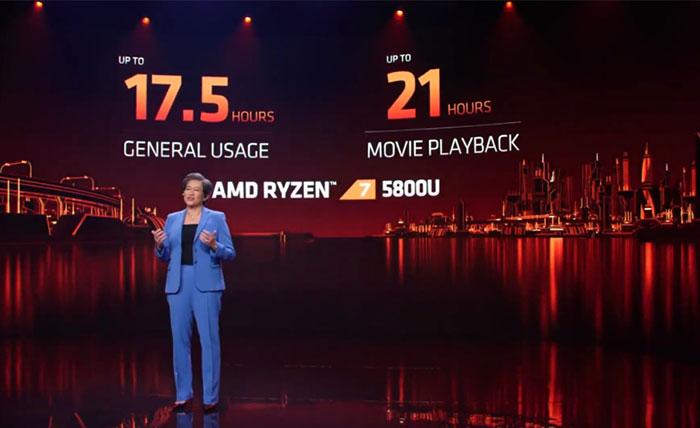 CPU AMD Ryzen 5000 Mobile đổ bộ lên laptop với hiệu năng đột phá và thời lượng pin đến 21 giờ