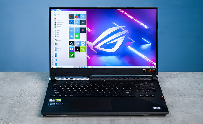 Trên tay ASUS ROG Strix Scar 17 G733: Laptop Gaming dùng Ryzen 9 5900HX